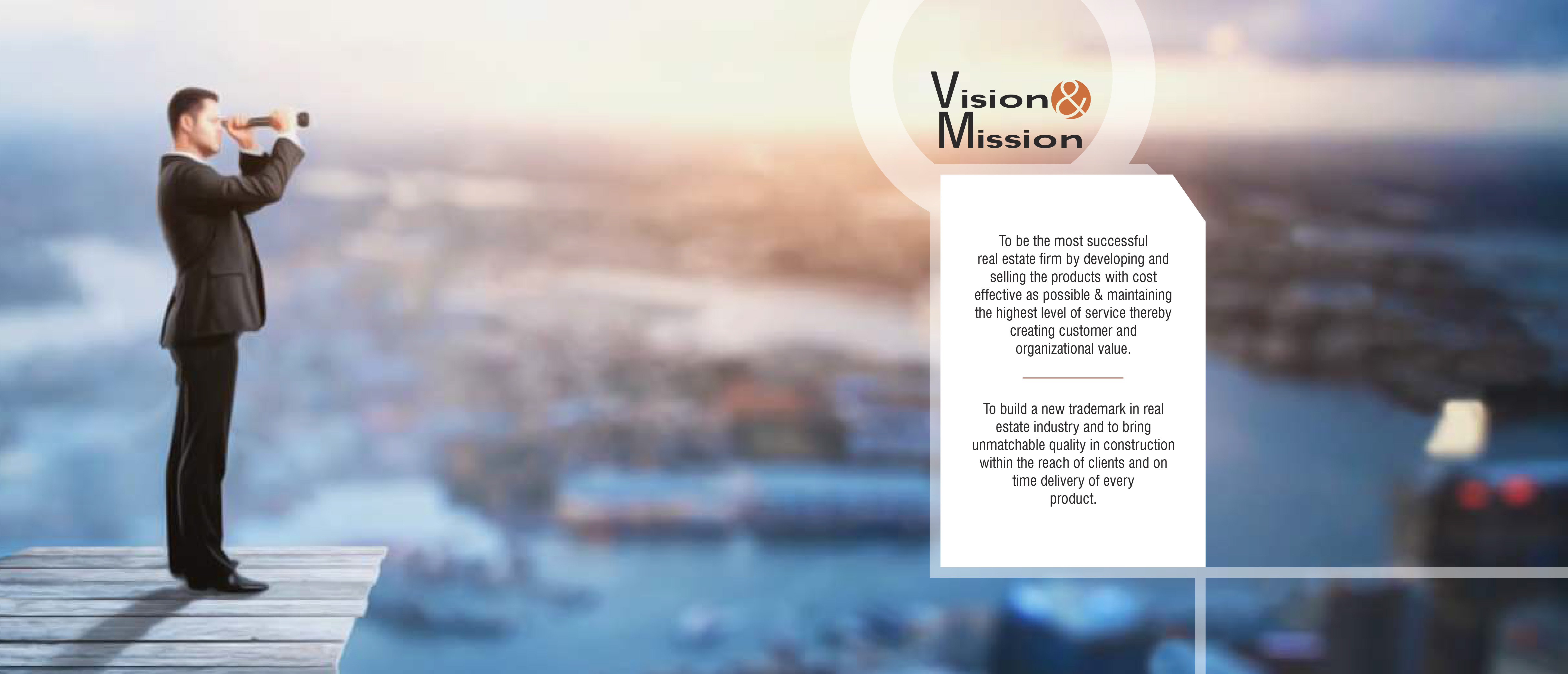 Vision and Mission of inspira builders group