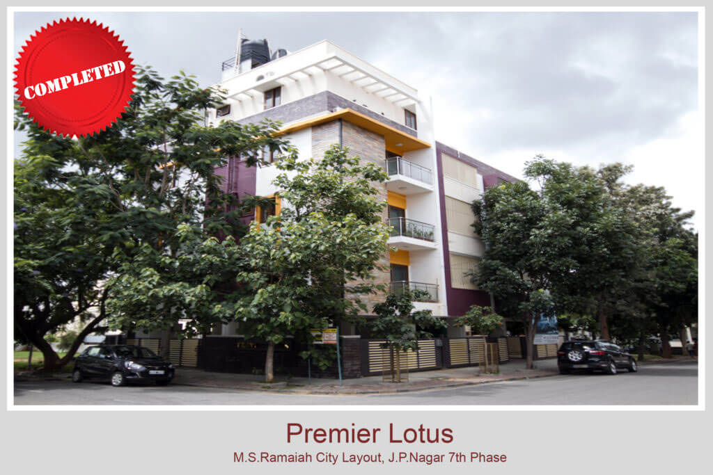 Completed projects - Inspira builders | Luxury apartments in bangalore